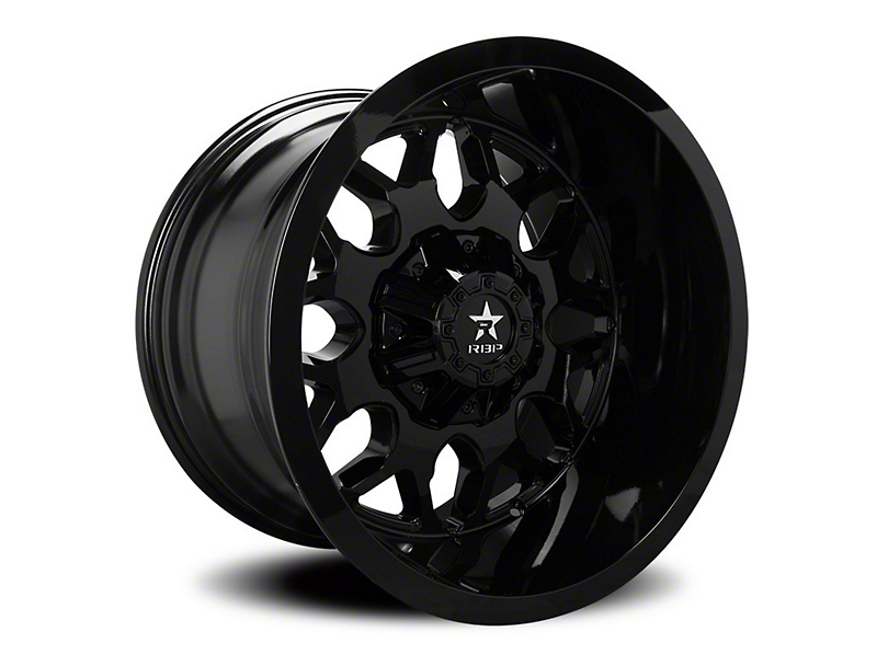 RBP 73R Atomic Gloss Black Wheel - 22x12 (97-06 Jeep Wrangler TJ)