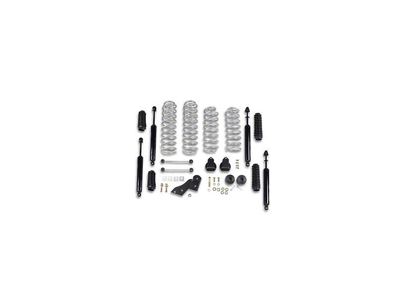 Rubicon Express 2.50-Inch Standard Coil Spring Suspension Lift Kit (07-18 Jeep Wrangler JK 2 Door)