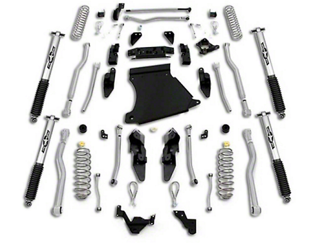 Rubicon Express Jeep Wrangler 4.5 in. Extreme-Duty 4-Link