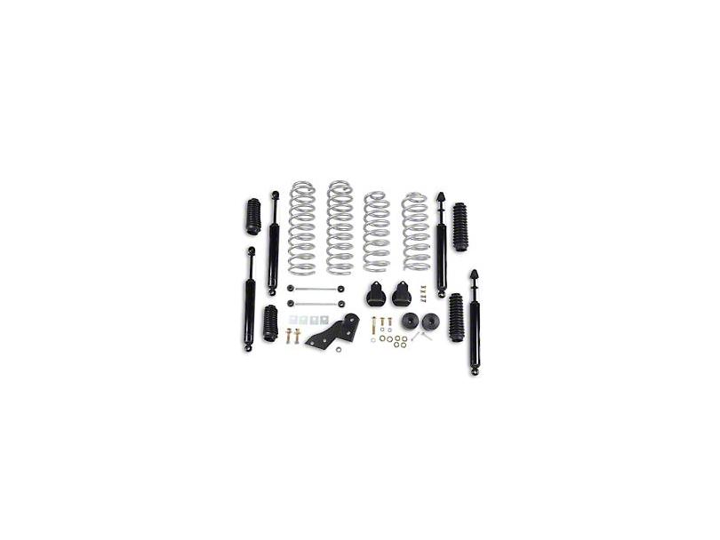 Rubicon Express 2.5 in. Standard Coil Spring Lift Kit (07-18 Jeep Wrangler JK 4 Door)