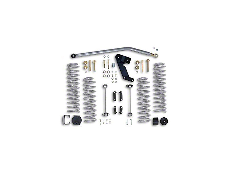 Rubicon Express 3.5 in. Standard Coil Spring Lift Kit (07-18 Jeep Wrangler JK 4 Door)