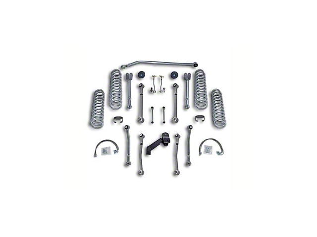 Rubicon Express 3.5 Inch Super-Flex Suspension Lift Kit (07-18 Jeep Wrangler JK 4 Door)