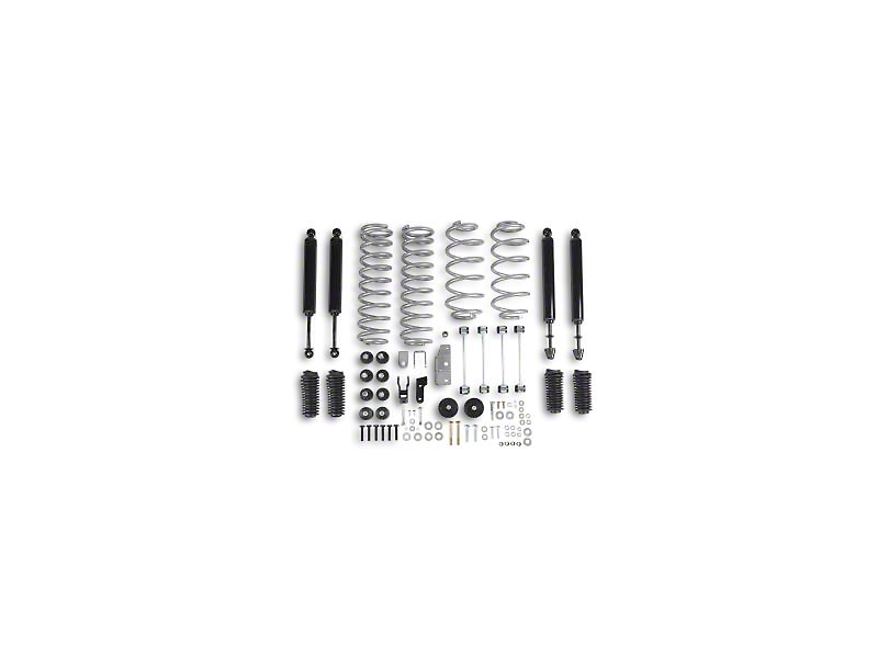 Rubicon Express 3.5 in. Standard Coil Spring Lift Kit (97-06 Jeep Wrangler TJ)