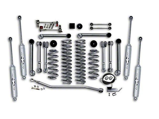 Rubicon Express 3.50-Inch Super-Flex Short Arm Suspension Lift Kit (97-06 Jeep Wrangler TJ)