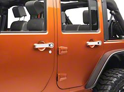 Rugged Ridge 5-Piece Door Handle Cover Kit - Chrome (07-18 Jeep Wrangler JK 4 Door)