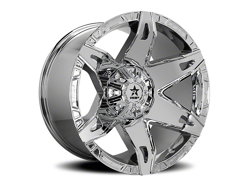 RBP 70R Quantum Chrome Wheel - 20x10 (97-06 Jeep Wrangler TJ)