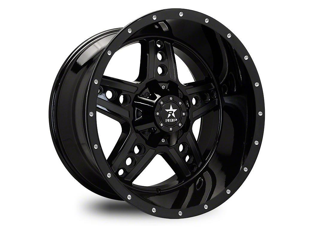 RBP 90R Colt Gloss Black Wheel - 22x12 (87-06 Wrangler YJ & TJ)