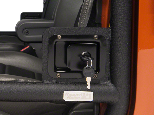Rugged Ridge Door Latch Set - Pair for Half and Tube Doors (07-17 Wrangler JK) : wrangler doors - Pezcame.Com