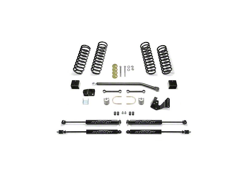 Fabtech 3-Inch Sport II Lift Kit with Shocks (07-18 Jeep Wrangler JK 4 Door)