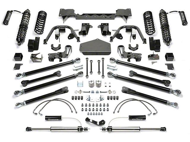 Fabtech 5-Inch Crawler Coil-Over Lift Kit with Dirt Logic Shocks (07-18 Jeep Wrangler JK 4 Door)