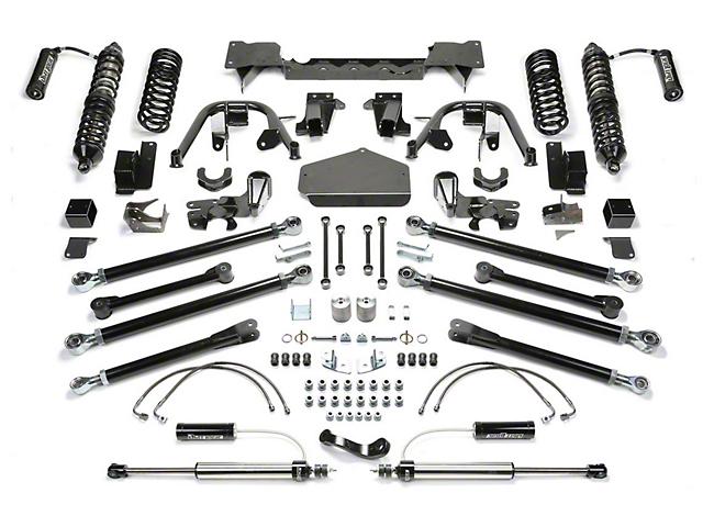 Fabtech 3-Inch Crawler Coil-Over Suspension Lift Kit with Dirt Logic Shocks (07-18 Jeep Wrangler JK 2 Door)