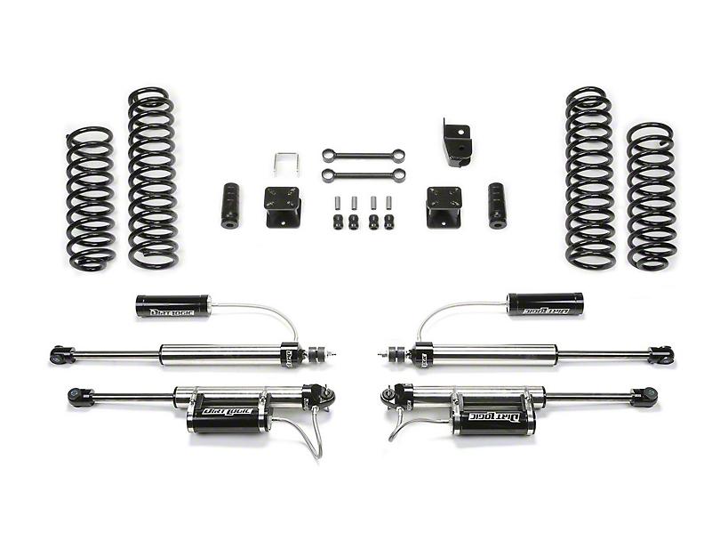 Fabtech 3-Inch Sport Lift Kit with Shocks (07-18 Jeep Wrangler JK 2 Door)