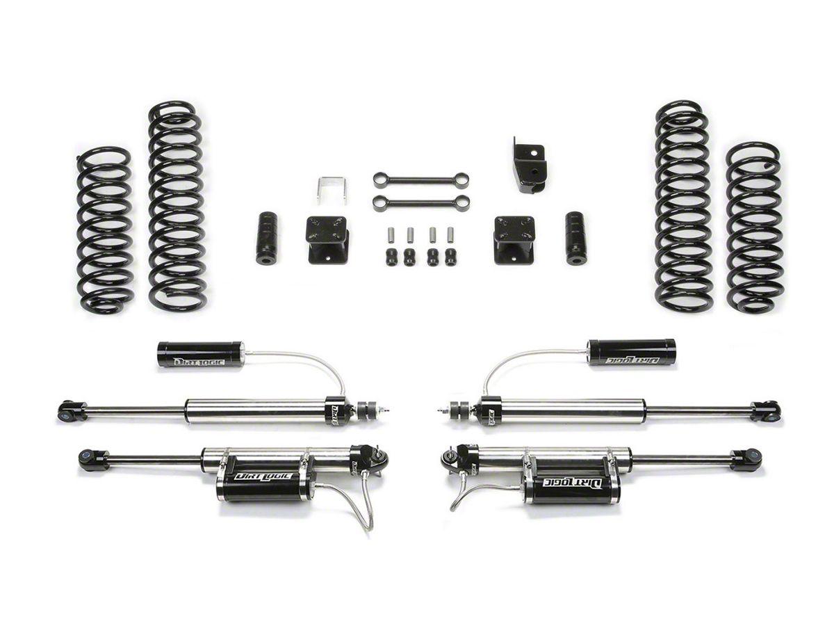 Fabtech 3 in  Sport Lift System w/ Shocks (07-18 Jeep Wrangler JK 2 Door)