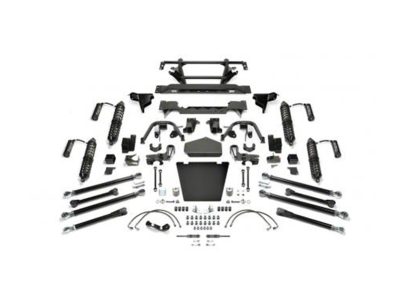 Fabtech 5-Inch Crawler Coil-Over II Lift Kit with Dirt Logic Reservoir Shocks (07-18 Jeep Wrangler JK)