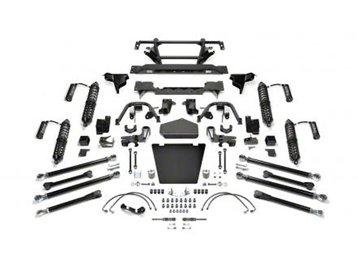 Fabtech 5 in. Crawler Coil-Over II Lift Kit w/ Dirt Logic Reservoir Shocks (07-18 Wrangler JK)