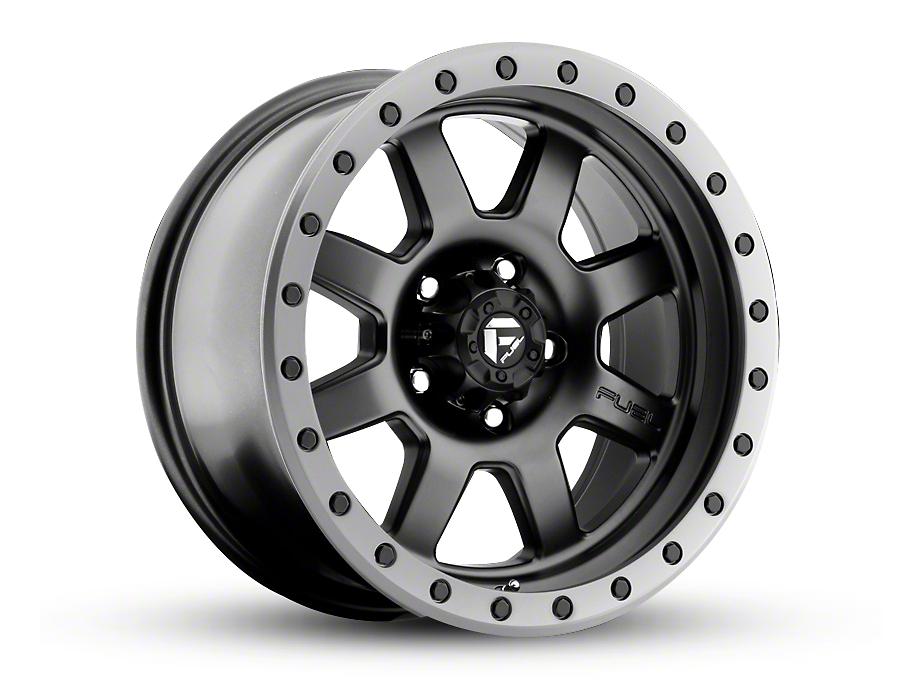 Fuel Wheels Trophy Matte Black Wheels (07-18 Wrangler JK; 2018 Wrangler JL)