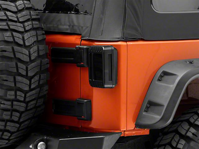 Raxiom LED Tail Lights - Smoked (07-18 Jeep Wrangler JK)