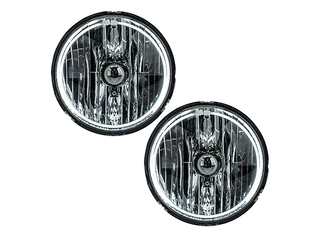 Oracle Chrome OE Style Headlights w/ CCFL Halos (07-18 Jeep Wrangler JK)