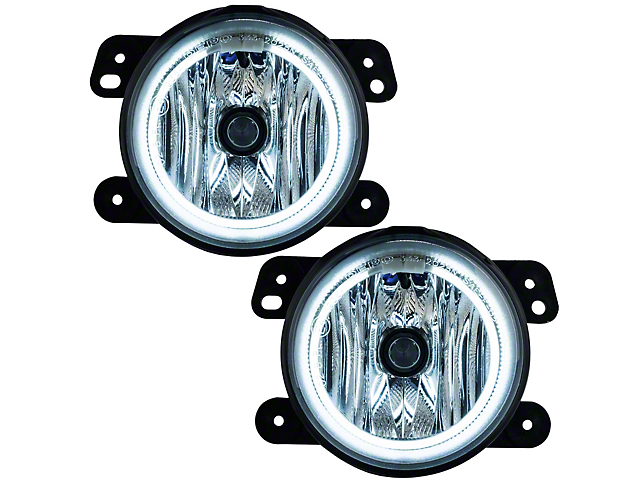 Oracle OE Style CCFL Halo Fog Lights (10-18 Jeep Wrangler JK)