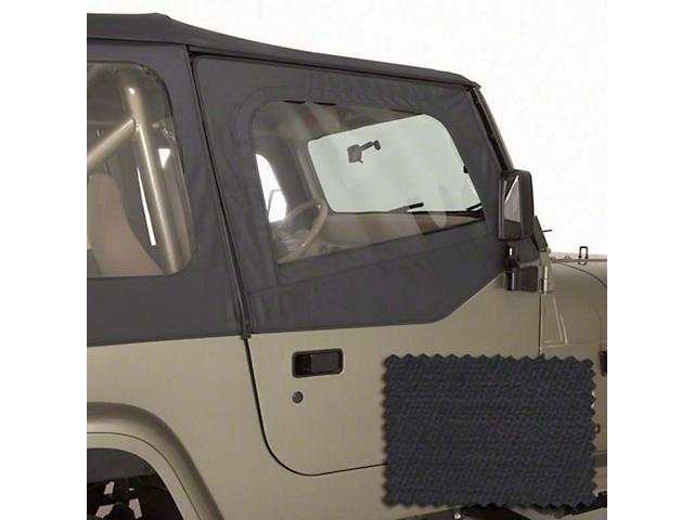 Rugged Ridge Replacement Door Skins - Black Diamond (88-95 Jeep Wrangler YJ)