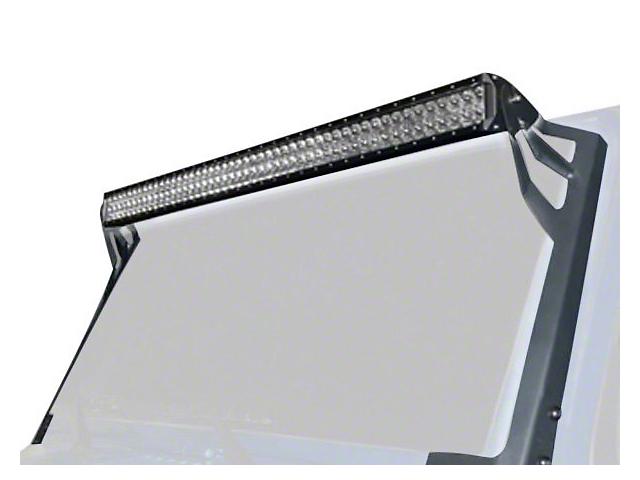 Oracle 50 in. LED Light Bar w/ Upper Windshield Mounting Brackets (07-18 Jeep Wrangler JK)