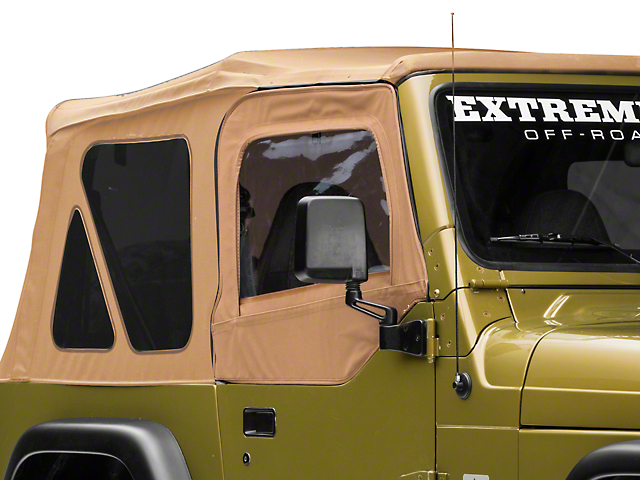 Rugged Ridge Door Skins; Khaki Spice (97-06 Jeep Wrangler TJ)