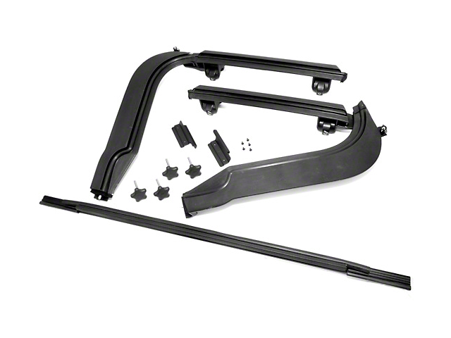Bestop Factory Style Door Surround Kit (97-06 Jeep Wrangler TJ)