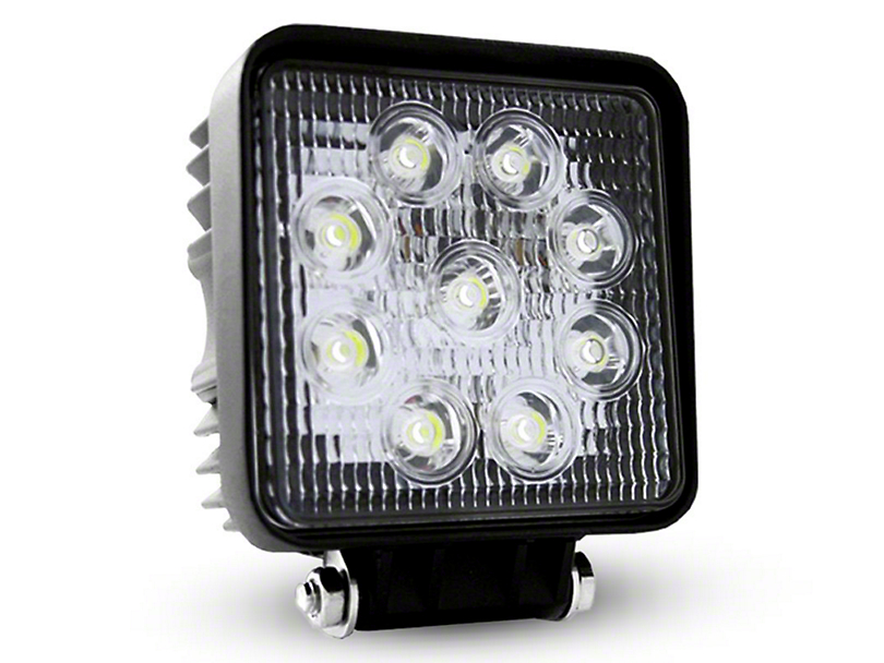 Oracle 4.5 in. Off-Road Series 27W Square LED Light - Spot Beam