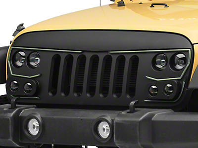 Oracle Vector Series Replacement LED Grille (07-18 Jeep Wrangler JK)