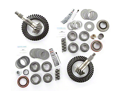 Alloy USA Dana 30F/35R Ring Gear and Pinion Kit w/ Master Overhaul Kit - 3.73 Gears (97-06 Jeep Wrangler TJ)