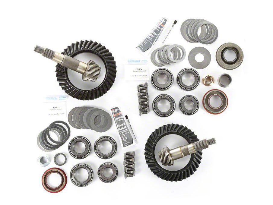 Jeep Wrangler TJ Dana 35 Ring /& Pinion Gear Set 3.73 Ratio /& Master Kit Motive