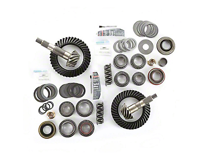 Alloy USA Dana 30F/44R Ring Gear and Pinion Kit w/ Master Overhaul Kit - 3.73 Gears (97-06 Jeep Wrangler TJ)