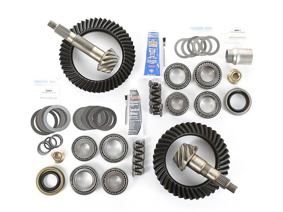Alloy USA Dana 44F/44R Ring Gear and Pinion Kit w/ Master Overhaul Kit - 4.56 Gears (97-06 Jeep Wrangler TJ)