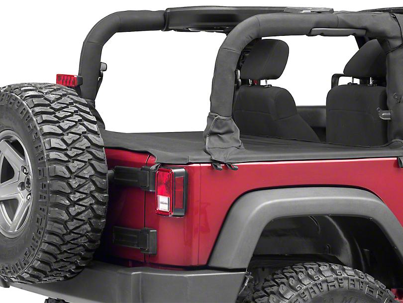 Rugged Ridge Tonneau Cover (07-18 Jeep Wrangler JK 2 Door)