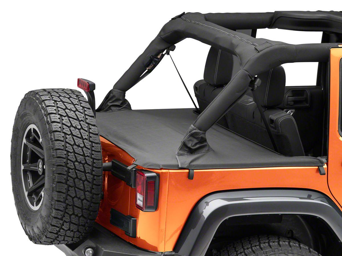 Rugged Ridge Jeep Wrangler Tonneau Cover 13550 04 07 18 Jeep Wrangler Jk 4 Door