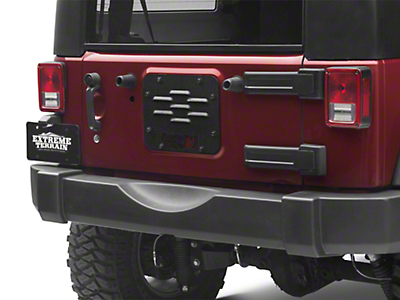 Rugged Ridge Tire Carrier Delete Plate (07-18 Wrangler JK)