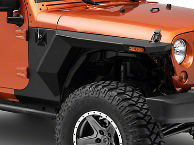 Rugged Ridge XHD Armor Fenders & Liner Kit (07-18 Jeep Wrangler JK 2 Door)