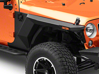 Rugged Ridge XHD Armor Fenders & Liner Kit (07-18 Wrangler JK 4 Door)