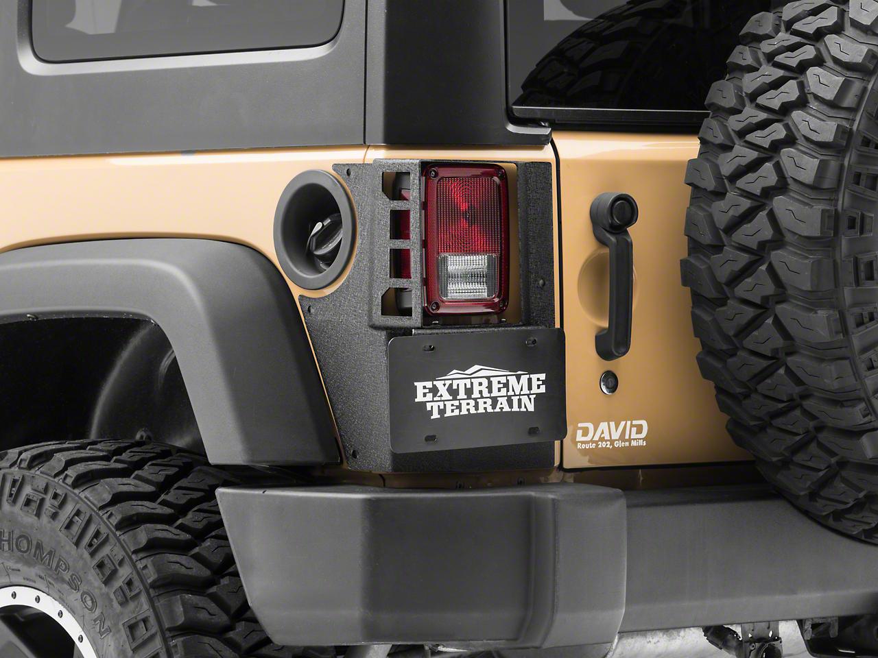 Rugged Ridge XHD Rear Corner Guards (07-18 Wrangler JK 4 Door)
