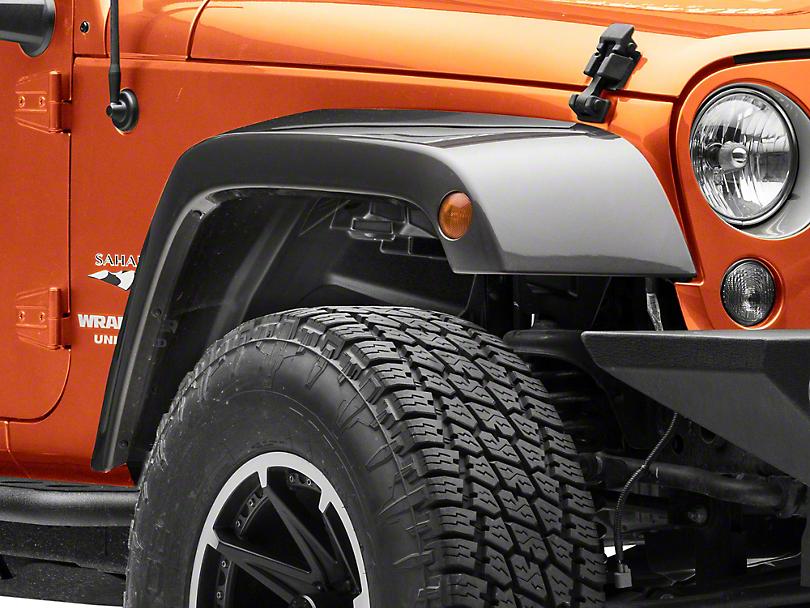 Rugged Ridge Gen 2 All-Terrain Fender Liner Kit (07-18 Jeep Wrangler JK)