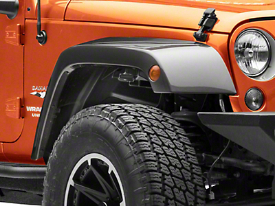 Rugged Ridge Gen 2 All-Terrain Fender Liner Kit (07-18 Jeep Wrangler JK)