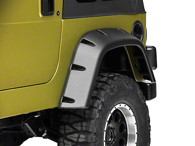 Rugged Ridge All-Terrain Fender Flare - Left Rear (97-06 Jeep Wrangler TJ)