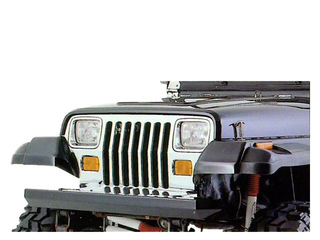 Rugged Ridge Rock Crawler Front Bumper - Black (87-06 Jeep Wrangler YJ & TJ)