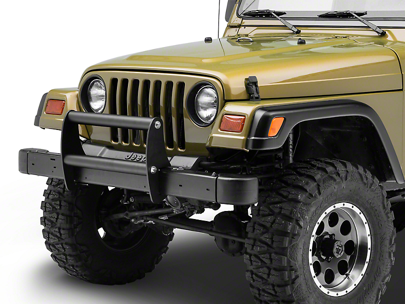 Rugged Ridge Brush Guard - Textured Black (97-06 Jeep Wrangler TJ)