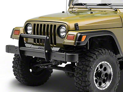 Rugged Ridge Brush Guard - Textured Black (97-06 Jeep Wrangler TJ)
