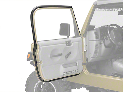 Omix-ADA Driver Outer Door Weather Stripping (97-06 Wrangler TJ w/ Full Doors)