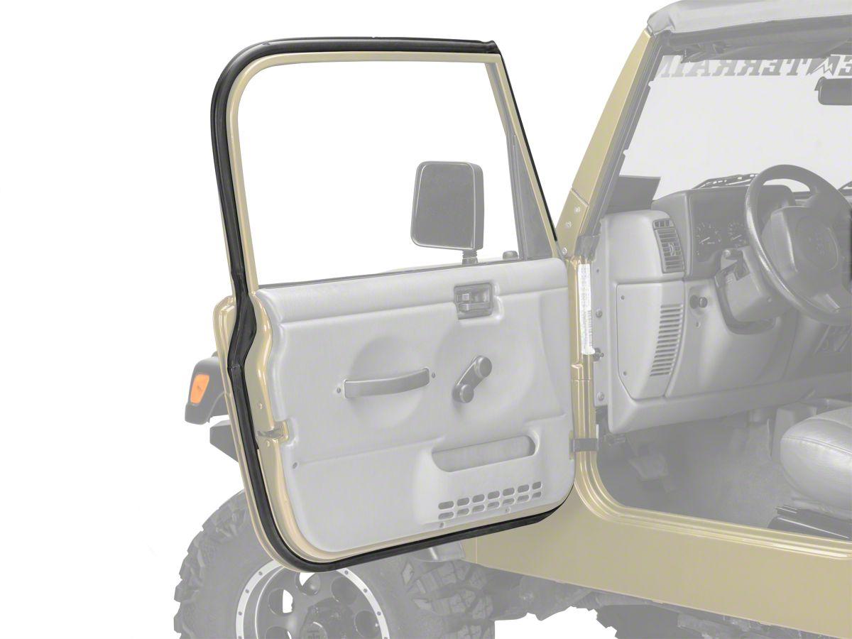 97-06 Jeep Wrangler TJ Right Side Full Door to Body Weather Strip Factory Mopar
