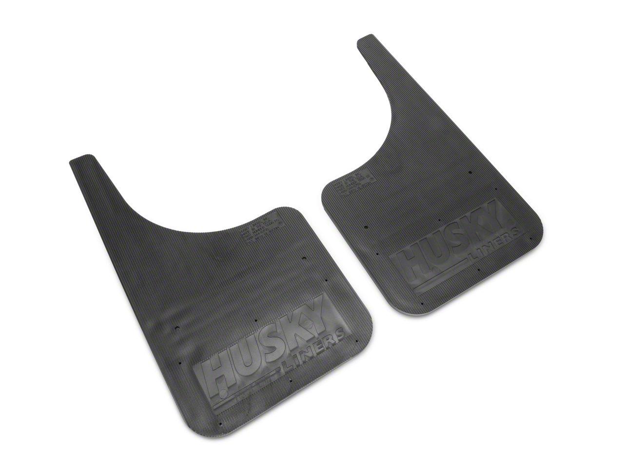 Husky MudDog Front Mud Flaps (87-19 Jeep Wrangler YJ, TJ, JK & JL)