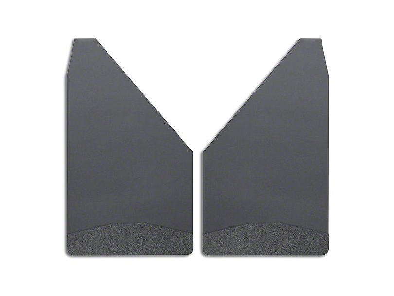 Husky 12 in. Wide Mud Flaps - Black Weight (Universal Fitment)