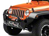 Barricade Extreme HD Full Width Front Bumper (07-18 Jeep Wrangler JK)